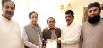 چودھری پرویزالٰہی نے محمد اشفاق وڑائچ کو پاکستان مسلم لیگ لاہور کا نائب صدر مقرر کر دیا