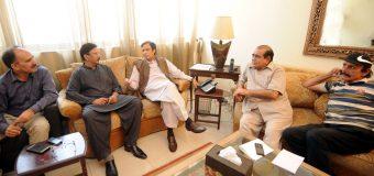 سابق کپتان سلیم ملک پاکستان مسلم لیگ میں شامل، ہر پاکستانی کیلئے دروازے کھلے ہیں: چودھری پرویزالٰہی