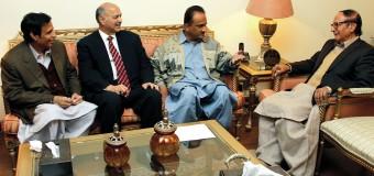 چودھری شجاعت حسین نے اسد علی جونیجو کو پاکستان مسلم لیگ سندھ کا صدر مقرر کر دیا