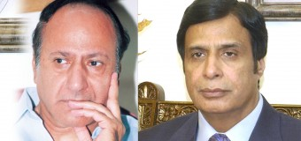 Ch Shujat Hussain, Parvez Elahi and Moonis Elahi express their heartfelt sorrow and grief over demise of Mir Javedur Rahman