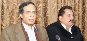 Orange Line bigger project than Nandipur for making dollars, Ch Parvez Elahi