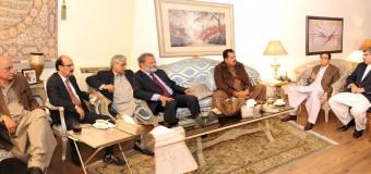 چودھری پرویزالٰہی کی زیر صدارت اجلاس میں پاکستان مسلم لیگ پنجاب کی تمام تنظیمیں تحلیل، ری آرگنائزنگ کیلئے تین کمیٹیوں کا قیام