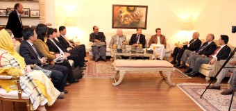Ch Shujat Hussain has important role in Pak-China friendship and Economic Corridor, high level Chinese delegation call on