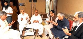 Ch Parvez Elahi condoles demise of son of Arshad Jhojha and grandson of Jahangir Jhojha