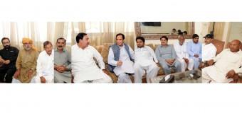 ن لیگ اور پیپلزپارٹی ملتان کی اہم شخصیات پاکستان مسلم لیگ میں شامل