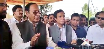 Pakistan enemy, big or small, will not be tolerated, Ch Shujat Hussain, Parvez Elahi