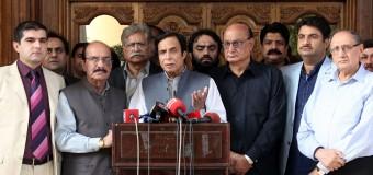 پاکستان کی سلامتی کیلئے تمام جماعتیں جدوجہد کیلئے نکلیں، عمران خان کے گھر کا محاصرہ قابل مذمت ہے: چودھری پرویزالٰہی