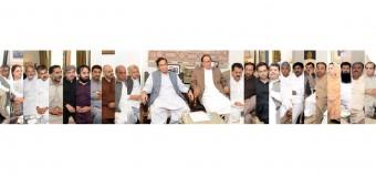 پاکستانی مارشل قوم، پانی بند کرنیوالوں کی سانسیں بند کر دے گی: چودھری شجاعت حسین، پرویزالٰہی