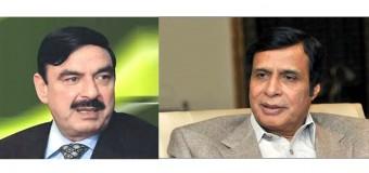 اسلام آباد دھرنے میں دیگر اپوزیشن جماعتوں کی شرکت کیلئے چودھری پرویزالٰہی اور شیخ رشید کی ملاقات