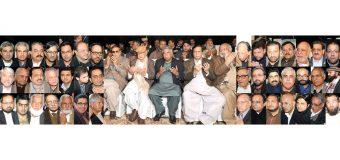 چودھری شجاعت حسین، پرویزالٰہی کی بھانجی کی رسم قل میں تمام سیاسی جماعتوں کے رہنماؤں کی شرکت