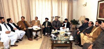 فوجی عدالتیں: چودھری شجاعت حسین نے 4جماعتی اتحاد کے 9نکات پیش کر دئیے