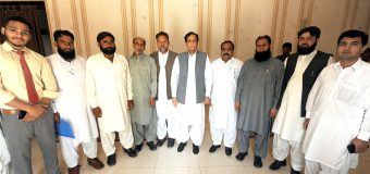 Ch Parvez Elahi removed deprivations of the poor, call on by Ch Altaf Hussain with a delegation