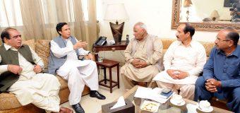 چودھری پرویزالٰہی نے مزدوروں کیلئے مثالی کام کیے، سیکرٹری جنرل پاکستان لیبر فیڈریشن سعید ارائیں مسلم لیگ میں شامل