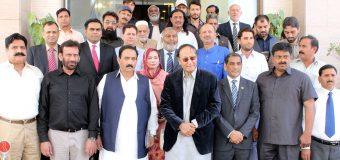 Ch Shujat Hussain unanimously elected Chairman and Shafay Hussain as President of Pakistan Kabaddi Federation