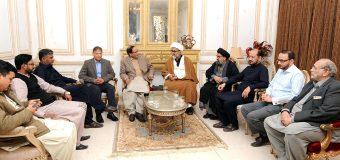 ''ختم نبوت'' نوازشریف کے ایماء پر حکومت منافقت کر رہی ہے: چودھری شجاعت حسین