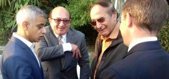 چودھری شجاعت حسین سے میئرلندن صادق خان کی ملاقات