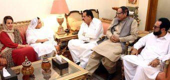 PTI MPA from Khyber Pukhtoonkhwah Nargis Ali joins PML