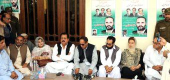 نوازشریف میں ہمت ہے تو خلائی مخلوق کے نام بتائیں: چودھری شجاعت حسین کا پاکستان مسلم لیگ خیبرپختونخواہ کے صوبائی سیکرٹریٹ کے افتتاح پر خطاب