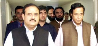 Acting Governor Ch Parvez Elahi and Chief Minister Usman Buzdar visit Maulana Abdul Wahab, pray for early recovery