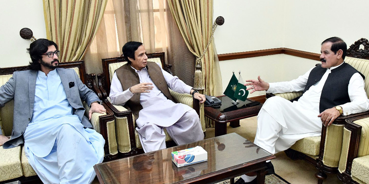 Those who did not let our made hospitals functional, how could they complete Punjab Assembly building: Speaker Ch Parvez Elahi meeting with Speaker Khyber Pukhtoonkhwah