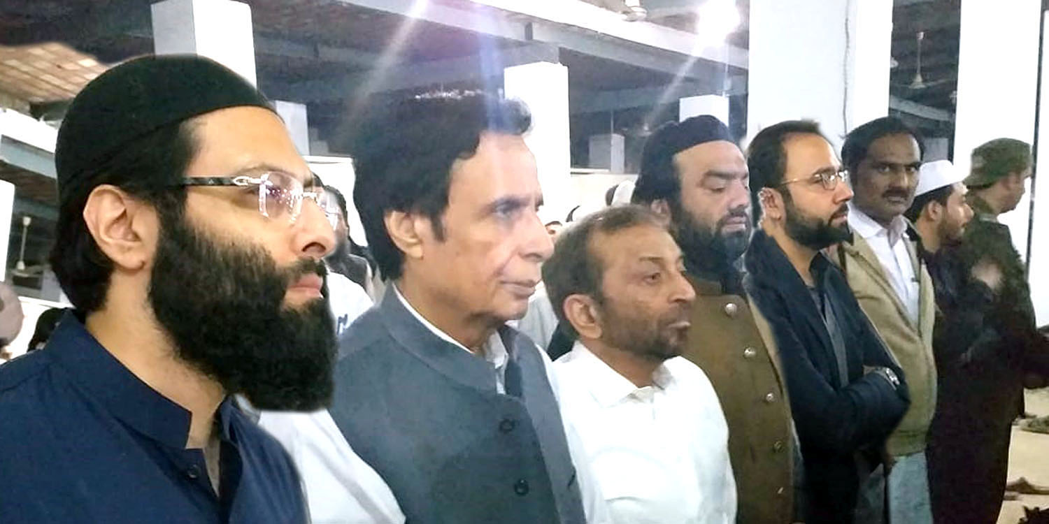 Services of Haji Abdul Wahab will always be remembered, Ch Parvez Elahi attends funeral prayer
