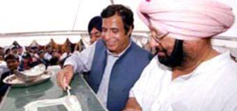 Chief Minister Indian Punjab Captain Amarinder Singh invites Ch Parvez Elahi for attending foundation stone laying ceremony of Kartarpur corridor