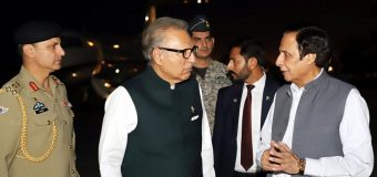 صدر مملکت عارف علوی اور چودھری پرویزالٰہی میں سیاسی صورتحال پر تبادلہ خیال