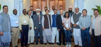 پاکستان بزنس کے فروغ کیلئے آئیڈیل ملک ہے: چودھری پرویزالٰہی