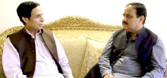 عمران خان اور وزیراعلیٰ کے ساتھ ہماری جماعت ہر مسئلہ پر شانہ بشانہ کھڑی ہے: چودھری پرویزالٰہی