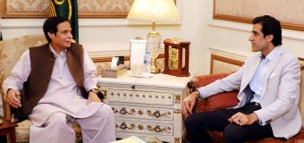 Ch Parvez Elahi and Aun Ch exchange views regarding political situation