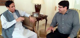 عثمان بزدار کے ساتھ مل کر جنوبی پنجاب میں ترقیاتی کاموں کا جال بچھایا جائے گا: چودھری پرویزالٰہی