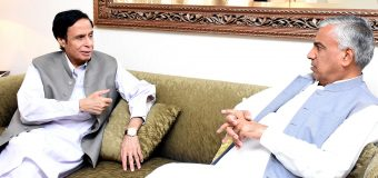Ch Parvez Elahi appoints Salim Baryaar as Muslim League Punjab Senior Vice-President