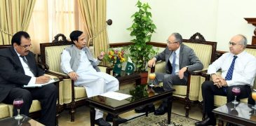 Japanese envoy calls on Speaker Ch Parvez Elahi, views exchanged regarding bilateral trade and boosting peoples contacts