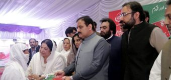 Photo Ch Salik Hussain with CM