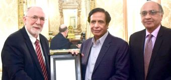 Rector F.C. College along with delegation calls on acting Governor Ch Parvez Elahi
