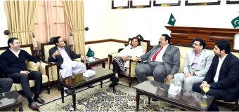 Saudi investors delegation hold important meeting with Speaker Ch Parvez Elahi