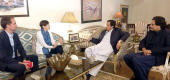 Need for formulating mutual strategy for overcoming environmental and climate changes: Ch Parvez Elahi