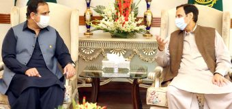 وزیراعلیٰ پنجاب عثمان بزدار سے سپیکر چودھری پرویزالٰہی کی ملاقات