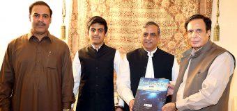 سپیکر پنجاب اسمبلی چودھری پرویزالٰہی سے وائس چانسلر منہاج یونیورسٹی ڈاکٹر ساجد محمود شہزاد کی ملاقات