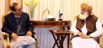 Talked on every subject other than politics with Maulana Fazlur Rehman: Ch Shujat Hussain