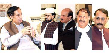 TLP ticket holder Ahmad Khan Kamoka called on Speaker Ch Parvez Elahi and Kamil Ali Agha and announced joining the party