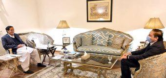 سپیکر چودھری پرویزالٰہی سے ڈپٹی چیئرمین سینیٹ سلیم مانڈوی والا کی ملاقات