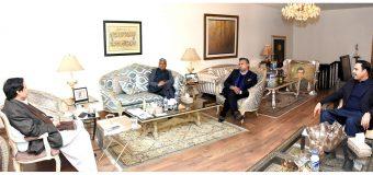 Corona causes economic downturn, Business Community playing key role in managing the economy: Ch Parvez Elahi