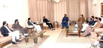 PPP Chairman Bilawal Bhutto Zardari called on Ch Shujat Hussain and Parvez Elahi