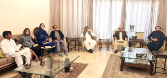Senator Saeed Hashmi, Founder of Balochistan Awami Party calls on Ch Shujat Hussain